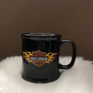 Harley-Davidson Kitchen - Harley-Davidson Black Embossed Logo Coffee Mug